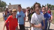 Students participate in Jog-A-Thon to raise money for Kern County Search and Rescue Dogs