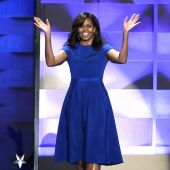 Michelle Obama Leads a Very Stylish DNC
