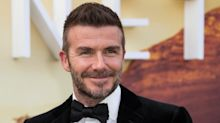 David Beckham Shares Rare Photo With His 3 Sons &, Yep, They're His Carbon Copies