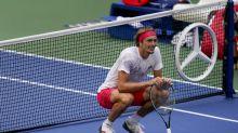 The Latest: Zvonareva, Siegemund win US Open women's doubles