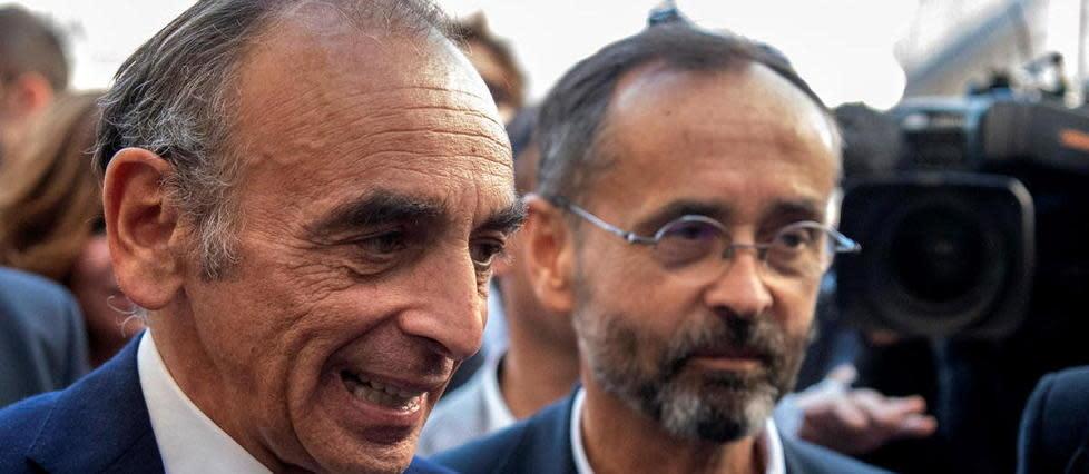 Ménard appelle Zemmour et Le Pen à l'unité pour éviter la défaite