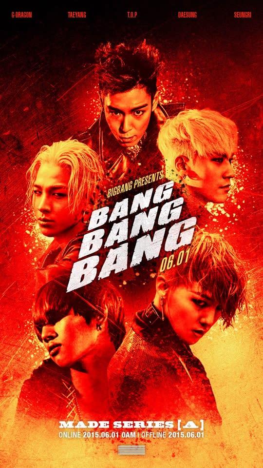 BigBang's 'BANG BANG BANG' MV voted as 'International Song of Summer
