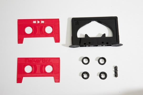 MakerBot brings back the 'Mixtape' as a printable MP3 player (video)