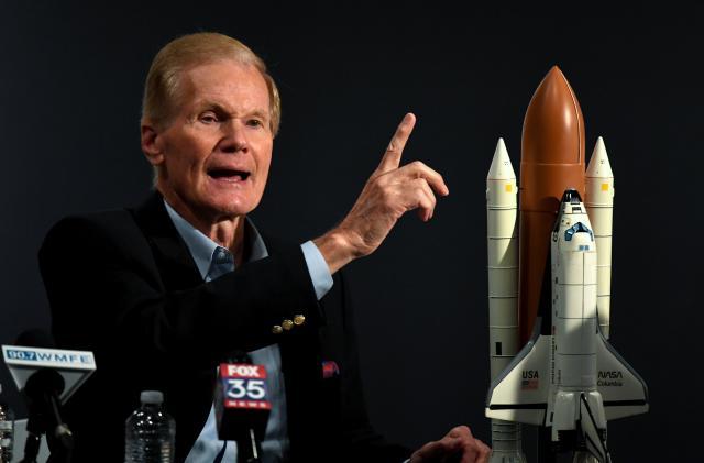 President Biden picks former senator and one-time astronaut Bill Nelson to lead NASA