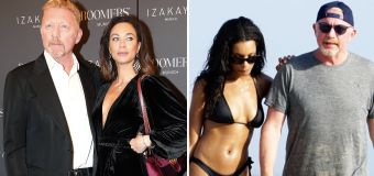 Wife continues attack on Boris Becker's girlfriend