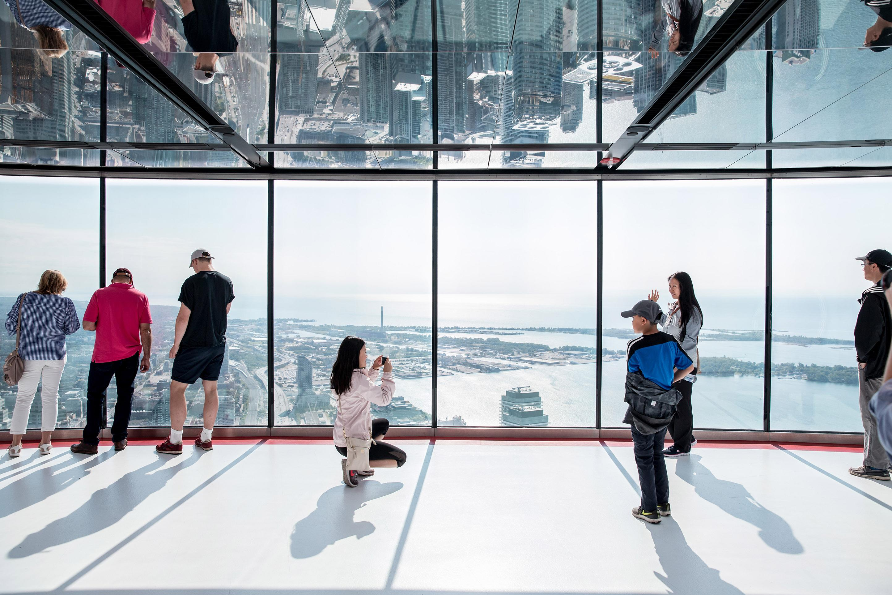 CN Tower shows off new $16 million upgrade