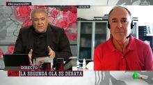 Le ha costado pero ha terminado diciéndolo: Ferreras define con una palabra el estado de alarma en Madrid