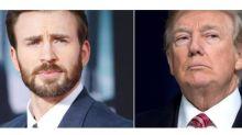 Por 2da ocasión Trump se negó a conocer a Chris Evans