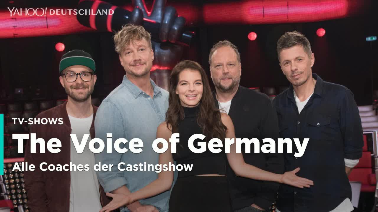 die coaches von the voice of germany video. Black Bedroom Furniture Sets. Home Design Ideas
