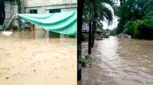 Monsoon rains submerge roads, houses in Urdaneta, Pangasinan