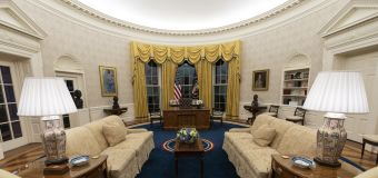 President Biden's symbolic changes to Oval Office