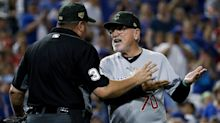 Cubs-Nationals ends bizarrely after Joe Maddon mounts premeditated toe-tap protest