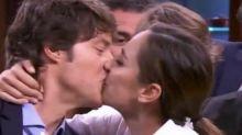 El comentado beso de Tamara Falcó a Jordi Cruz tras ganar 'MasterChef Celebrity 4'
