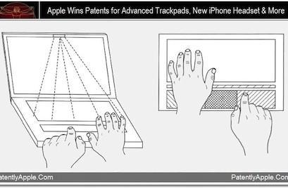 Apple granted 22 patents including trackpads, iPhone circuit boards and more