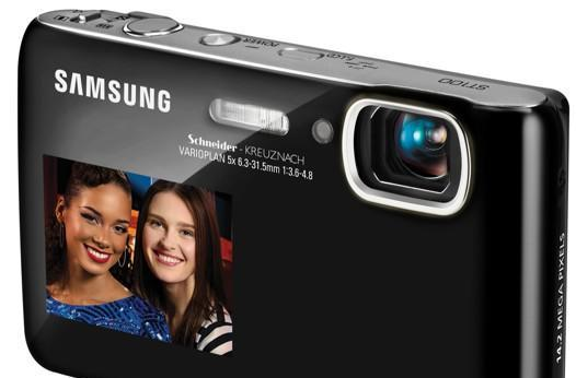 Samsung ST100 and ST600 cams take DualView screens to the high end