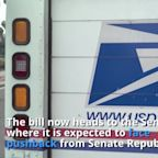 House passes funding for US Postal Service but bill may face opposition in Senate