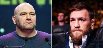 UFC boss White rips into Conor McGregor