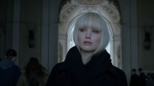 Jennifer Lawrence turns femme fatale in Red Sparrow trailer