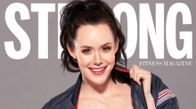 Tessa Virtue sizzles on the cover of Strong Fitness Magazine