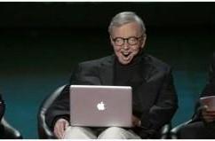 Macs help Roger Ebert to speak again