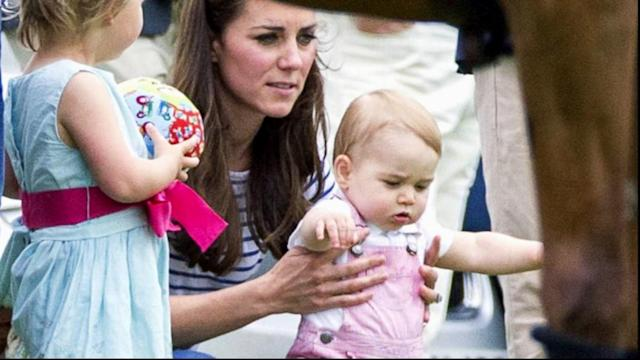 Prince George Takes His First Public Steps