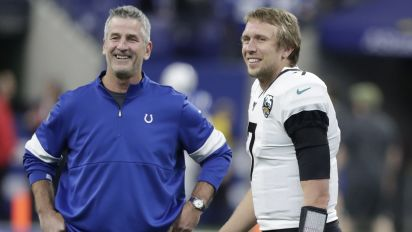 Colts coach seems to love QB not on his team