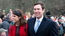 Princess Eugenie and Jack Brooksbank Make Their Christmas Walk Debut After Royal Wedding