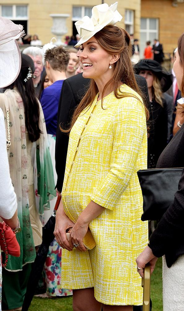Kate was bold and bright at this year's Garden Party, wearing a bespoke version of the Marella coat by Emilia Wickstead.