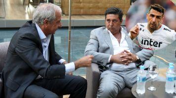 ¿La pipa de la paz? D'Onofrio defendió a Angelici por los insultos