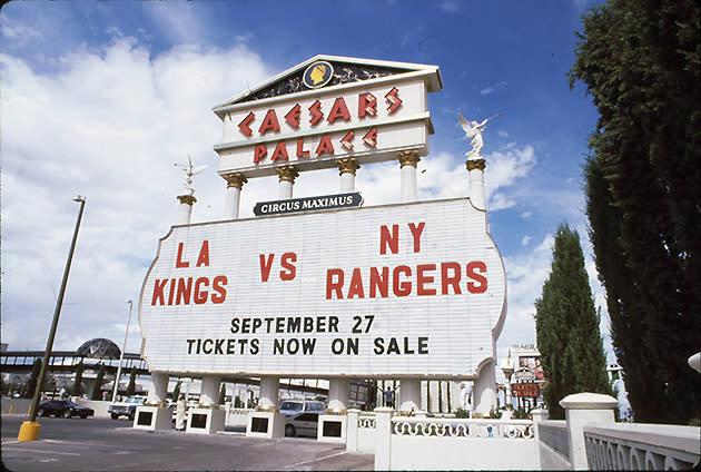 La Kings Las Vegas Misadventure Recalling The Melted Ice Locust