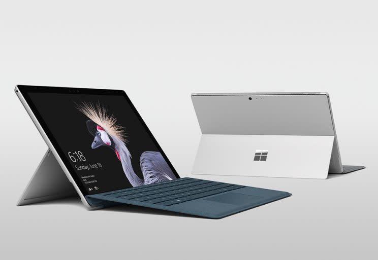 Microsoft's new Surface Pro.