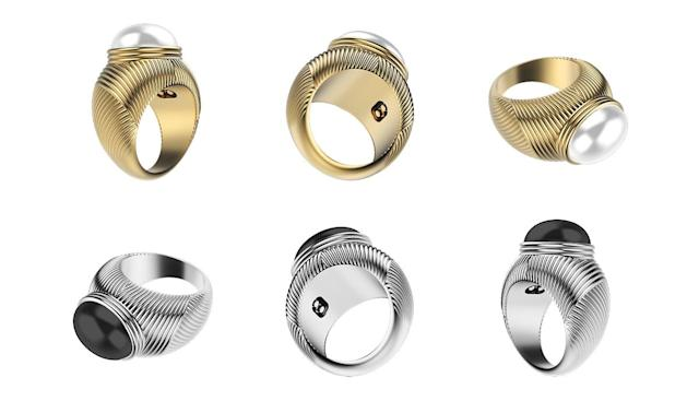 Omate's pricey ring vibrates just for your beloved