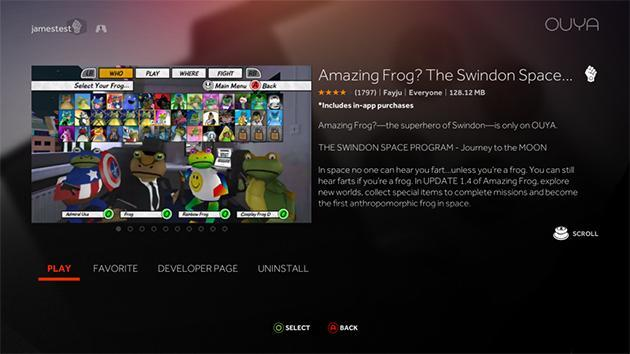 Chupacabra update makes the OUYA game console a better media center