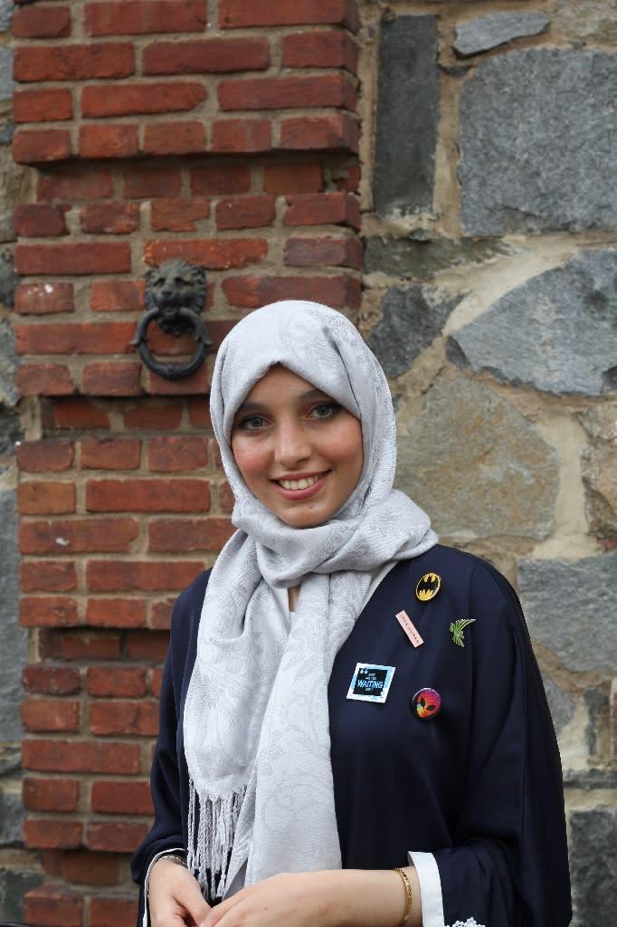 Alabdallah's budding venture BitGo aims to get teenagers engaged in community service using a gaming platform (AFP Photo/Olivia Hampton)