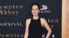 Michelle Dockery and Downton Abbey cast glam up for New York premiere