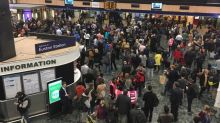 Euston station reopens after fire causes travel chaos