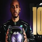 Spanish Grand Prix: Hamilton becomes first F1 driver to reach 100 pole positions