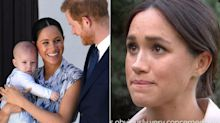 Meghan Markle says that the day of her now-famous candid interview, she was 'running a marathon' balancing mom and duchess responsibilities