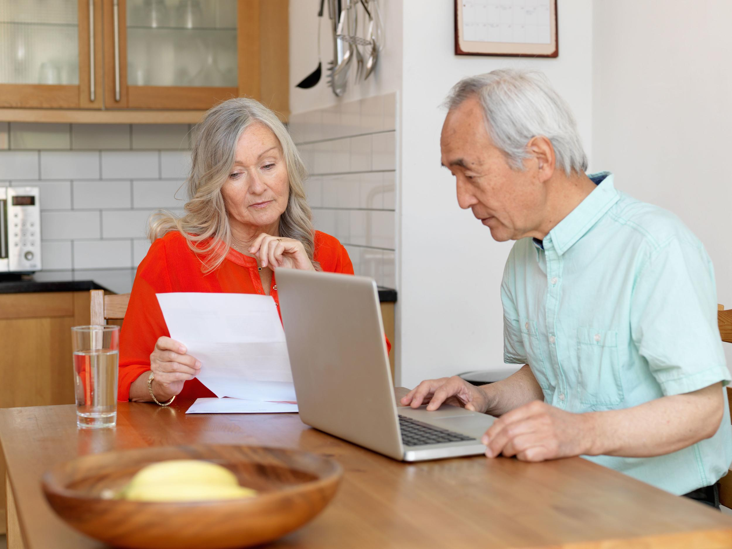 The day to day basics are swallowing up their fair share of pensioner cash too. On average, people aged 65-74 spend a third of their weekly income on essentials like food and bills - which is hardly living the high life.