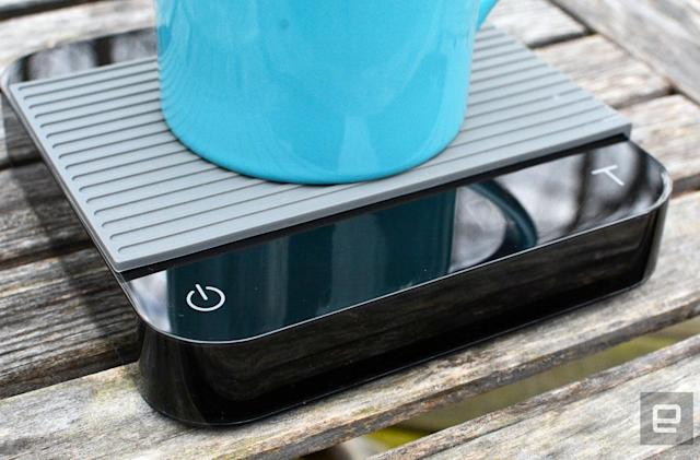 Acaia's Bluetooth scale tracks your morning coffee ritual