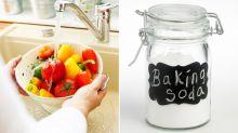Astuce ! Une maman a révélé utiliser du bicarbonate de soude pour laver les légumes