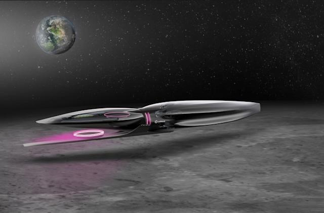 Lexus imagines space vehicles for humans on the Moon