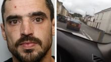 Dangerous driver jailed for two years after live-streaming himself speeding