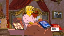 Trump's first 100 days, Simpsons style