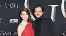 Kit Harington & Rose Leslie Are So Cute at the Game of Thrones Premiere