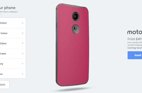 Create your own Moto X: Moto Maker now available in the UK