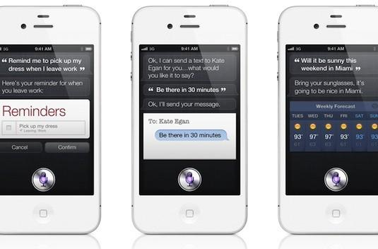 Apple brings Siri voice control to the iPhone 4S