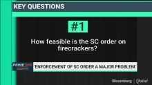 Crackdown On Firecrackers