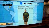 Headlines at 8:30: U.S. Army releases new physical fitness uniforms