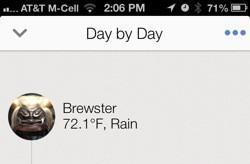 Narrato for iPhone is a full-featured journal app